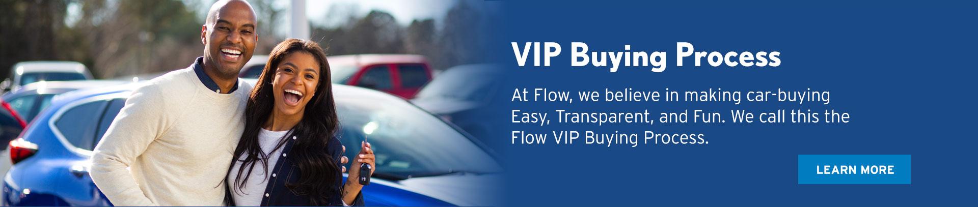 Flow VIP Buying Process