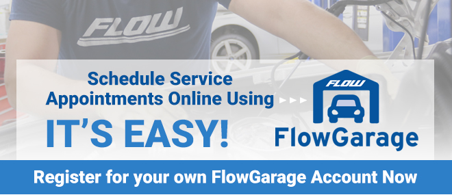 Flow - Schedule Service Scheduling Online via Flow Garage